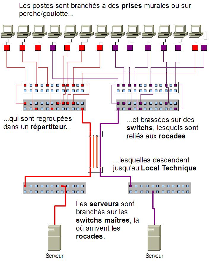 Sch mas types de r seau informatique vader fr ce n 39 est pas un blog c 39 est un sith - Schema cablage rj45 ethernet ...